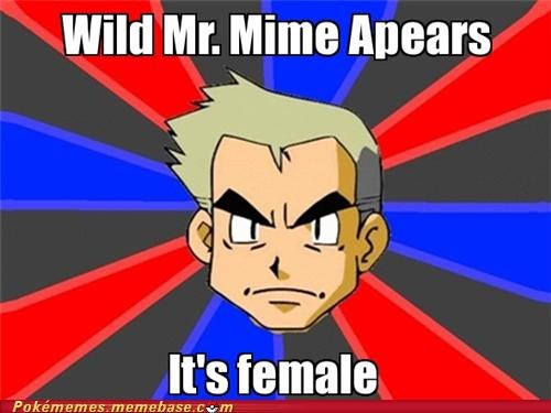 confusion female meme Memes mr-mime professor oak - 5400130560