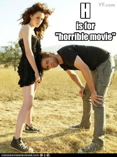 """is for """"horrible movie"""" H"""