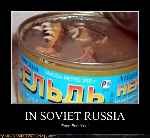 eats you food hilarious Soviet Russia