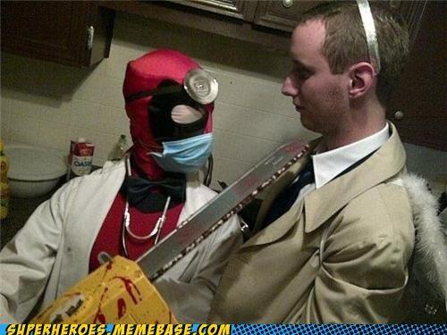 bad idea costume deadpool doctor Super Costume wtf - 5401733120