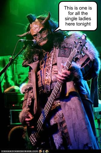 bands,Lordi,masks,metal,ox,single ladies