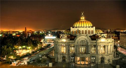 architecture city cityscape getaways mexico Mexico City night night photography north america - 5402635008
