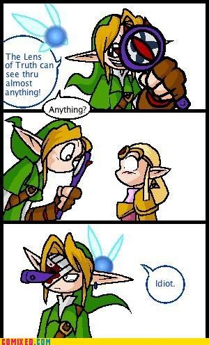lens of truth,link,navi,video games,zelda