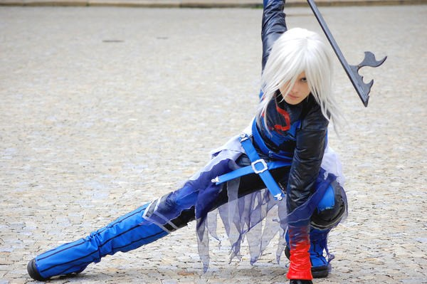 cosplay,dark mode,kingdom hearts,riku