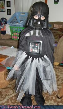 darth vader,darth vader offspring,kid costumes,tutu