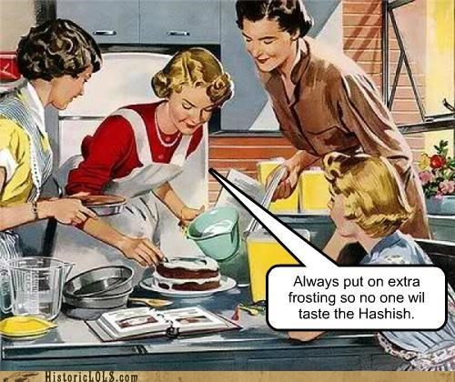 baking cooking delicious drugs frosting historic lols kitchen pro tips Special Brownies special cake vintage - 5403726592