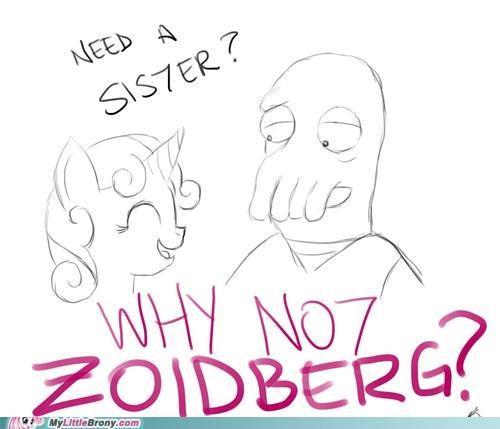 meme sista sisterhooves social Sweetie Belle Zoidberg - 5404802816