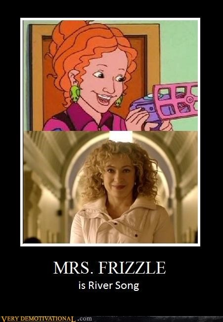 doctor who,hilarious,mrs-frizzle,River Song