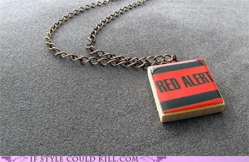 cool accessories,geek chic,necklaces,Star Trek