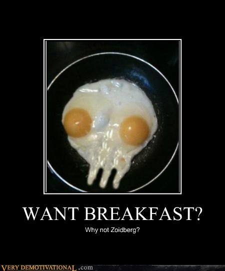 breakfast eggs hilarious Pure Awesome Zoidberg - 5405085184