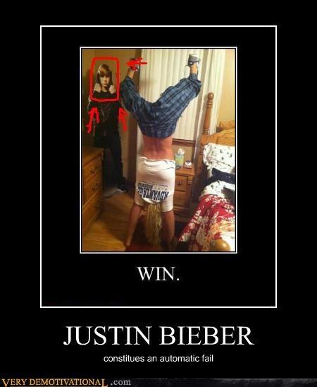 FAIL handstand hilarious illusion michael justin bieber - 5405751808