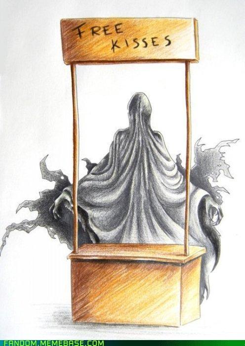 dementor Fan Art free kisses Harry Potter - 5406167296