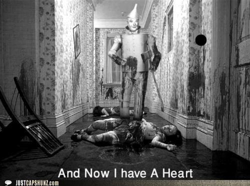 heart murder murderer wizard of oz - 5406315264