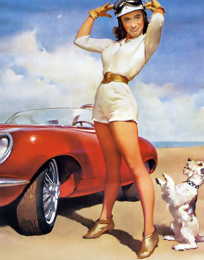 robert downey jr photoshop girls cheezcake funny pin up - 5406469