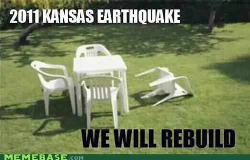 911,earthquake,forget,Kansas,Memes,rebuild