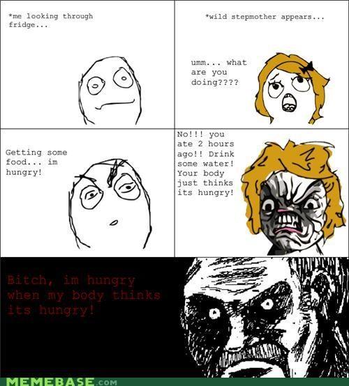 annoying hungry mom Rage Comics - 5406513408