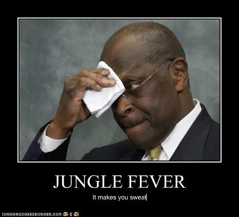 JUNGLE FEVER It makes you sweat