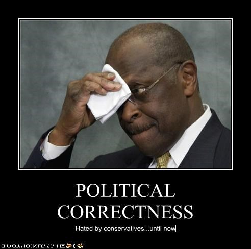POLITICAL CORRECTNESS Hated by conservatives...until now
