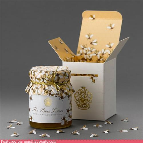bees box honey jar label packaging - 5406776576