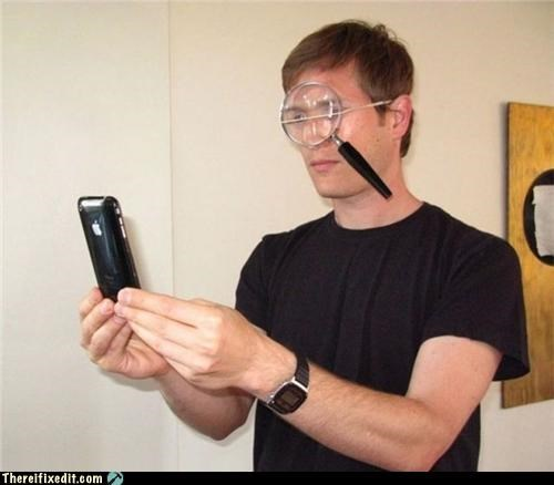 dual use glasses magnifying glass technology - 5406927360