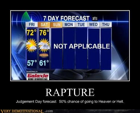 hilarious judgement day RAPTURE weather - 5406931968