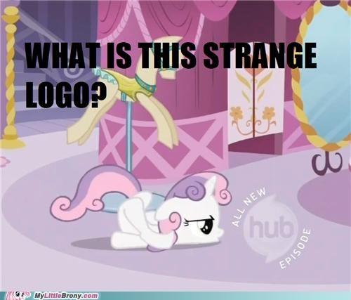 i accidentally meme Sweetie Belle the hub the hug logo - 5407001856