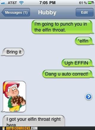 autocorrect effin elfin keebler punch punching - 5407091200
