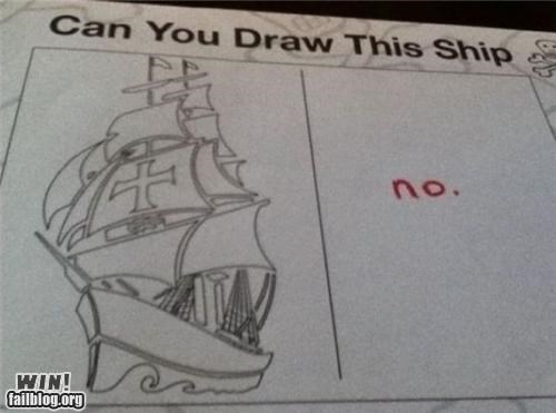 art boat drawing honesty ship skill trace