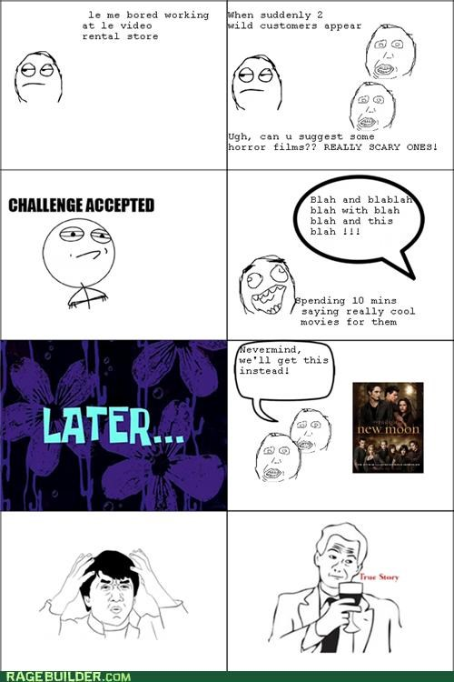 horror movies Rage Comics twilight - 5407368960