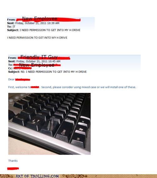 caps lock it keyboard - 5407389696