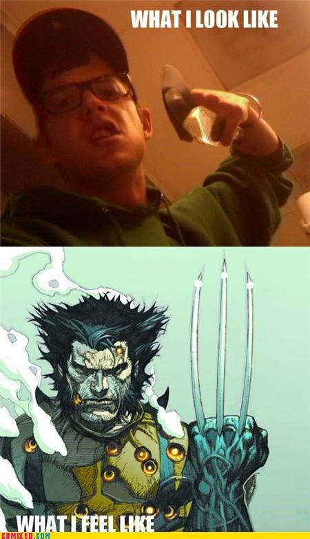 butter knives epic the internets what i look like wolverine
