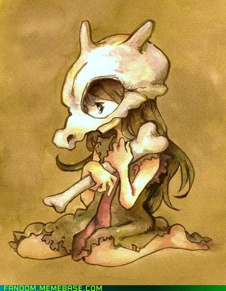 awesome cubone Fan Art Pokémon - 5407499520