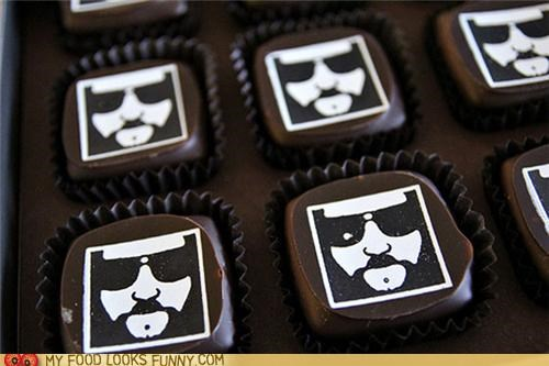 Big Lebowski candy chocolate face lebowski logo Movie print