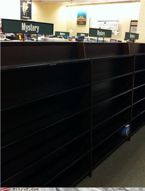 bookstores going out of business mystery