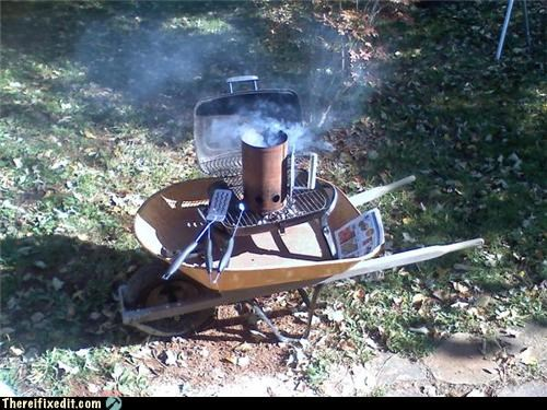 No dedicated grill stand? No problem!