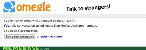 disconnect,kim kardashian,marriage,Omegle