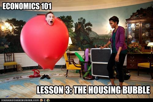 economy housing bubble Michelle Obama political pictures - 5407827712