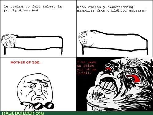 childhood embarrassing mother of god Rage Comics - 5407877888