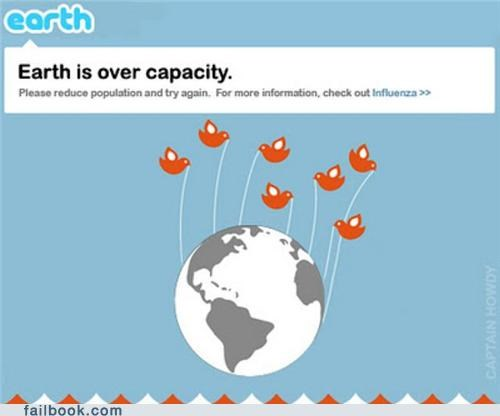 earth population population control twitter - 5407936768