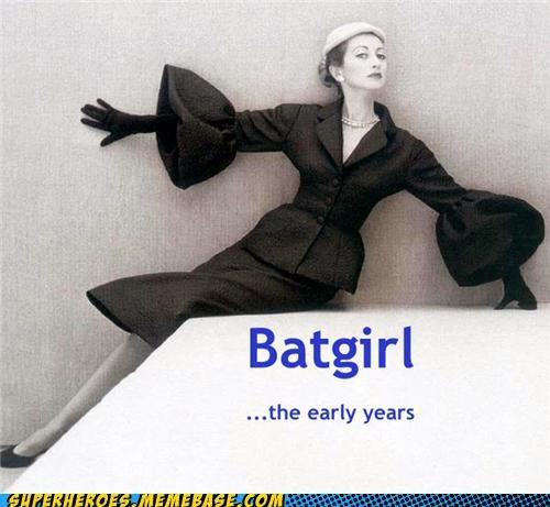 batgirl old timey Super-Lols wtf - 5407972864