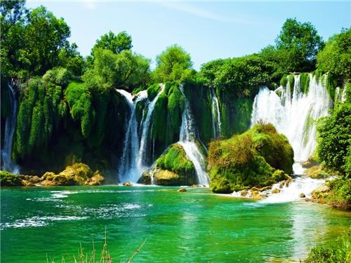 Bosnia and Herzegovina bosnia herzgovenia destination of the week eastern europe europe first class ticket getaways waterfall - 5408015360
