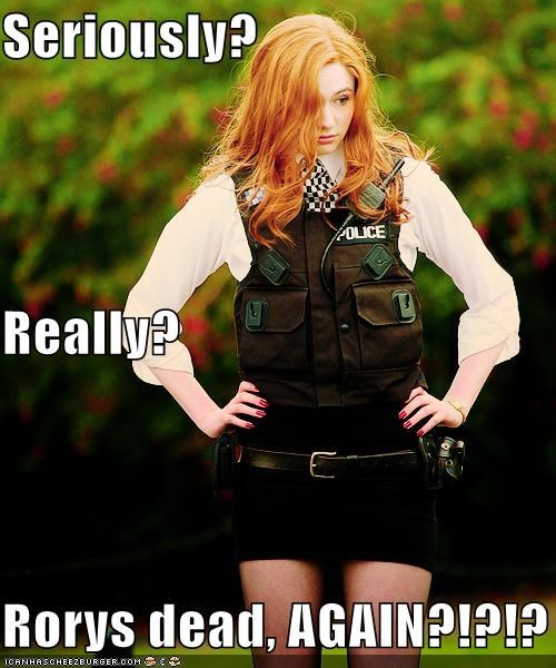 again amy pond dead doctor who karen gillan Rory William - 5408067584