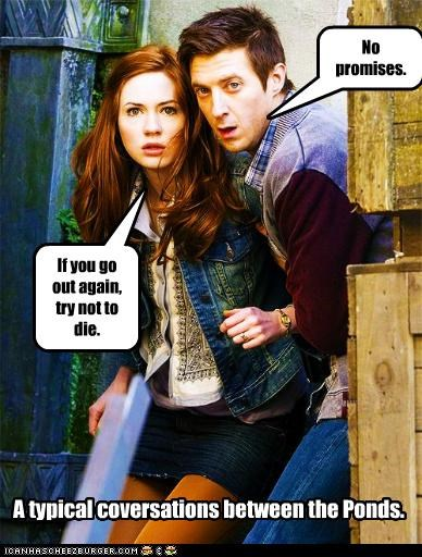 amy pond,die,doctor who,rory williams,the doctor