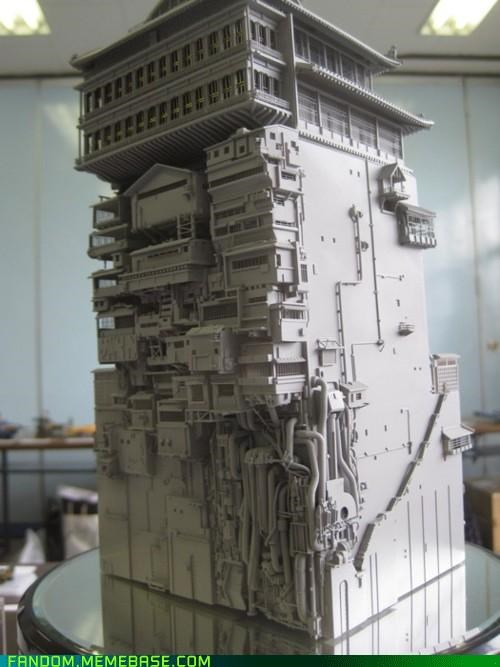 bathhouse,best of week,Fan Art,replica,spirited away
