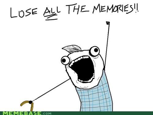 all the things,memories,old people,repeat,senility