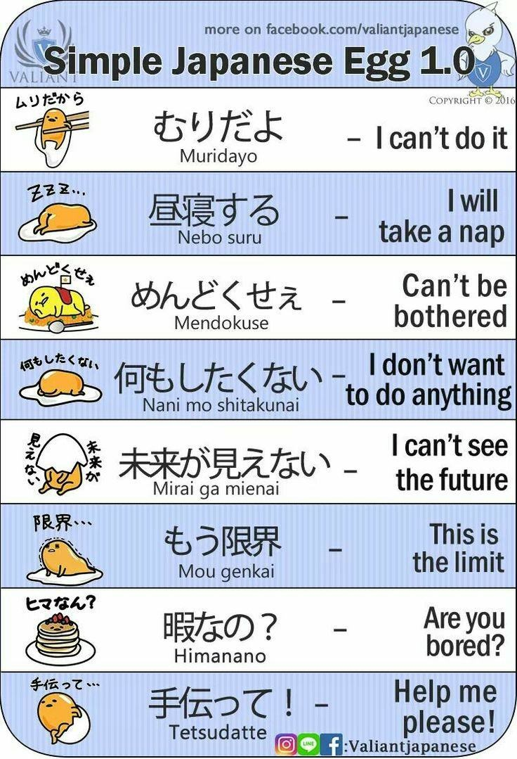 webcomics and cheat-sheet for learning basic Japanese phrases