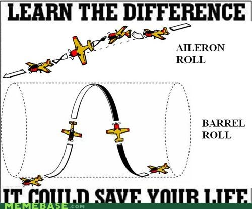 aileron barrel google life Memes planes roll starfox video games - 5408276736