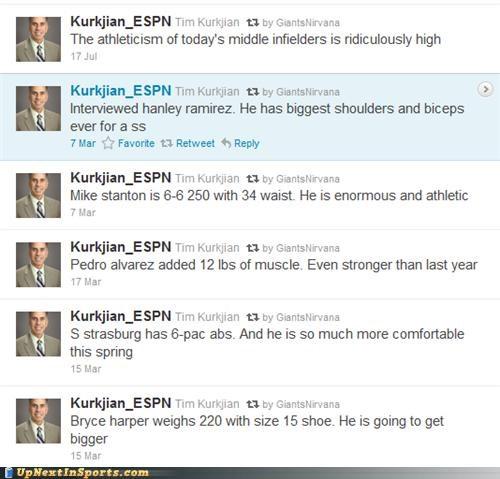 big espn reporter size sports tim kurkjian twitter - 5408285696