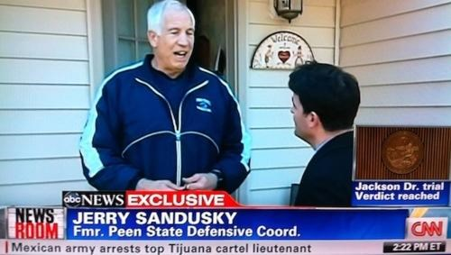 Jerry Sandusky Peen State Some Dumb Erratum State Penn Terrible Typo - 5408363520