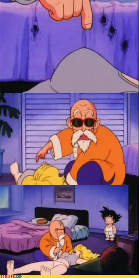 best of week dragonball goku master roshi so close TV - 5408499200